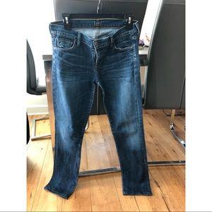 Citizens of Humanity straight leg denim pants